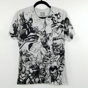 Men's Marvel Graphic T-Shirt Size Medium